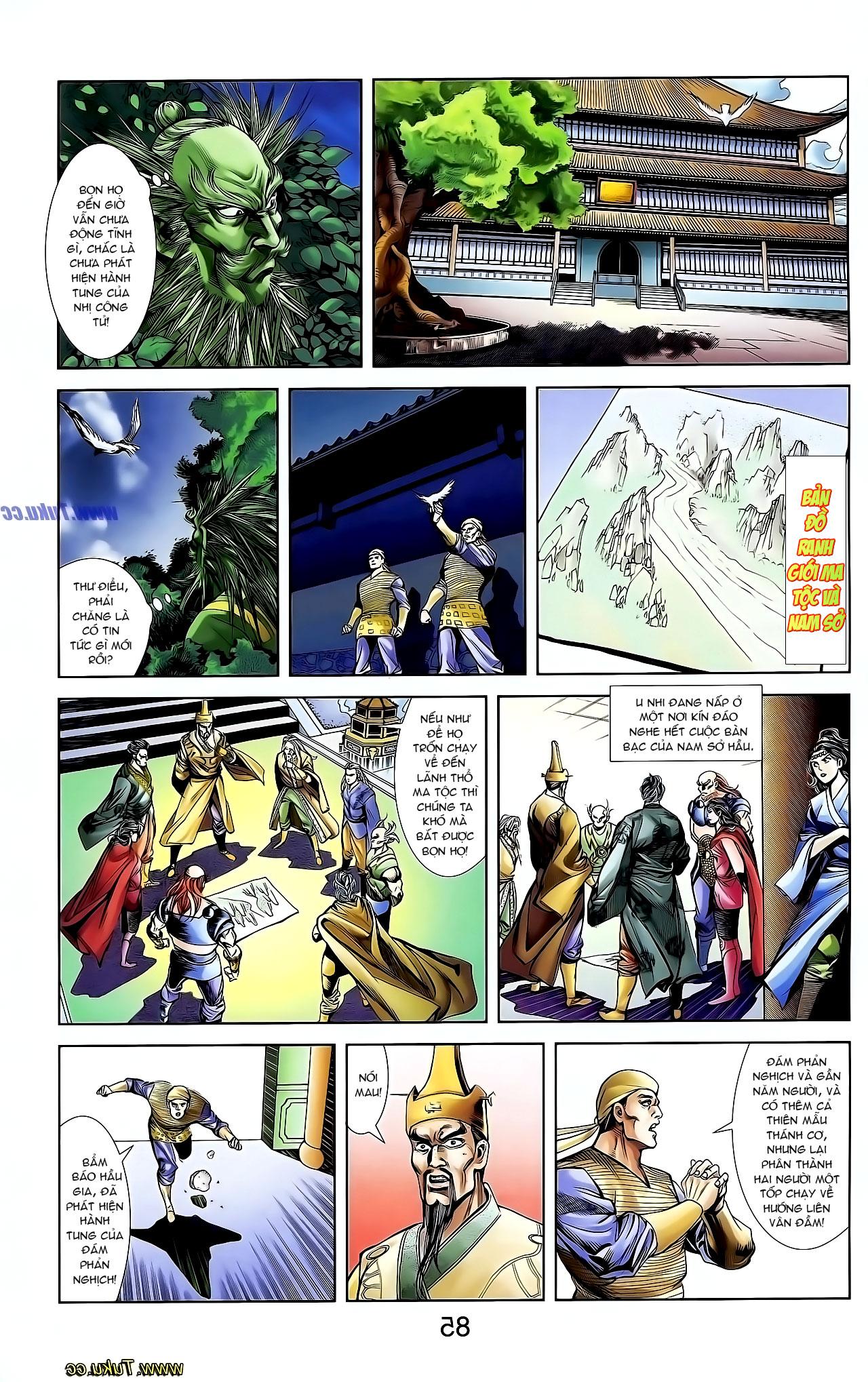 Cơ Phát Khai Chu Bản chapter 128 trang 16
