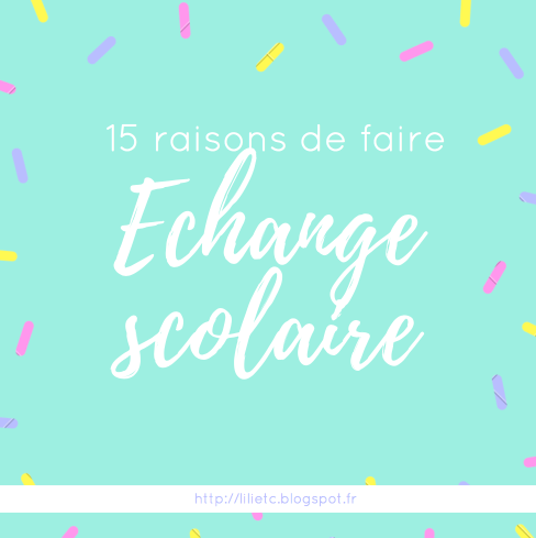 Echange scolaire 15 Reasons to take a year off