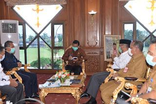 Gubernur Jambi Terus Perkuat Penanganan Covid-19 Bersama BPOM Jambi