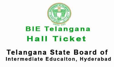 bie telangana hall tickets 2018 - bietelangana.cgg.gov.in halltickets downlaod