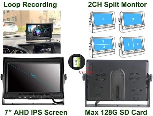 GreenYi-58 Wired AHD Truck Backup Camera