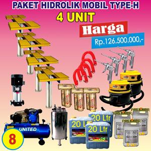 Paket Hidrolik-H 4 Unit