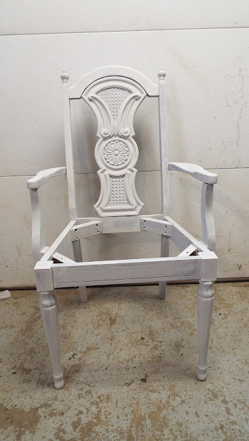chair painted with Cottage Paint