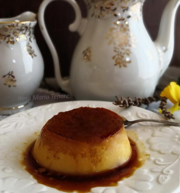 Crème Caramel alla Lavanda