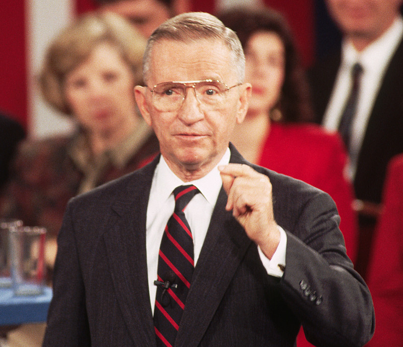 H. Ross Perot died