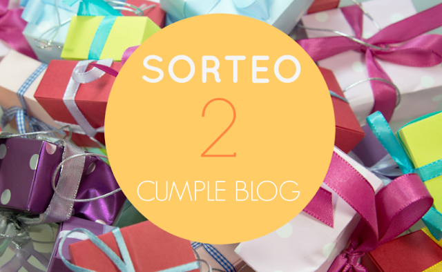 sorteo 2 cumple blog