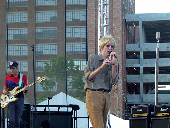 The Most Epic Part of The Wrecking Ball ATL Festival: Deerhunter's Bradford Cox Going Off