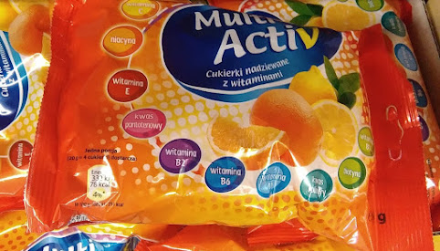 Cukierki z witaminami, Multi Activ