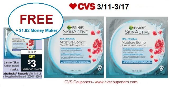 http://www.cvscouponers.com/2018/03/free-162-money-maker-for-garnier-facial.html
