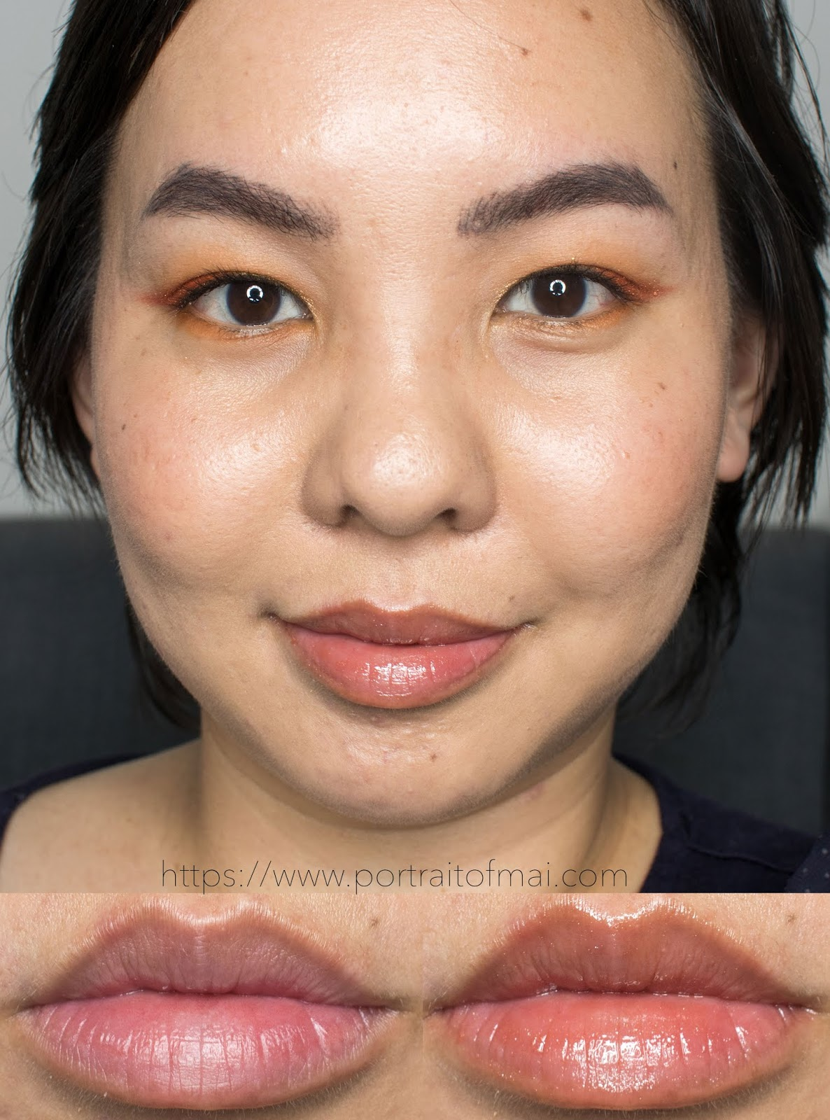 Persona Cosmetics Toffee Lip Gloss Swatch