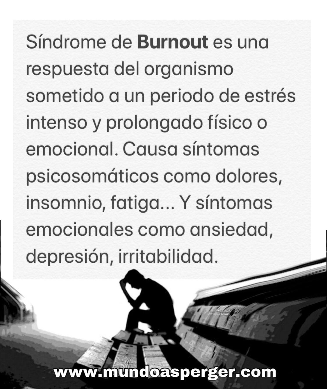 Mundo Asperger Síndrome De Burnout