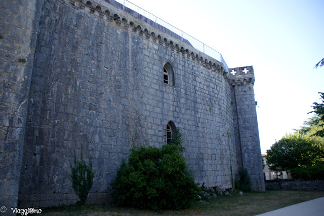 Parte delle mura del Castello di Rocamadour