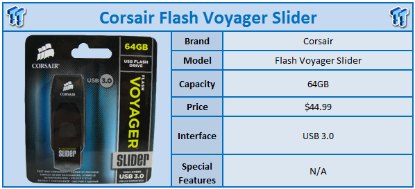 usb corsair flash voyager slider 64 GB