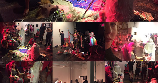 Performance Art Collaboration With Guillermo Gomez-Pena