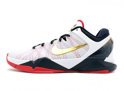 more photos 3551f 83617 ... KD IV Metallic Gold University Red-Obsidian-White  95 473679-702.  09 29 12 Zoom Kobe VII System White Metallic Gold  140 488371-104