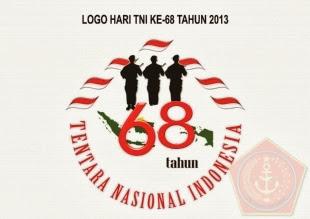 SELAMAT HUT TNI KE 68 TAHUN 2013
