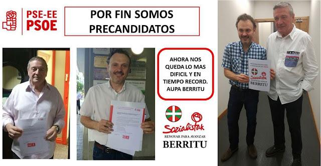Los candidatos de Berritu