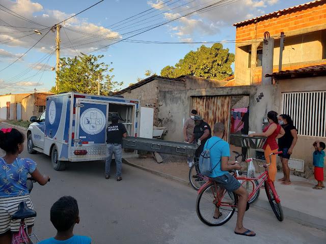 Criança é encontrada morta em grade de janela no bairro Santa Luzia em Barreiras