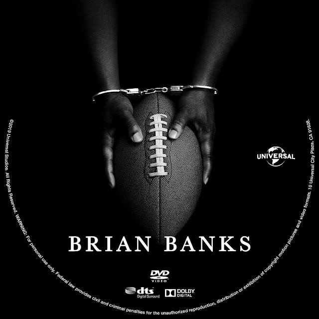 Brian Banks DVD Label