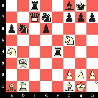Les Blancs jouent et matent en 4 coups - Mihail Marin vs Frank Naumann, Budapest, 1990