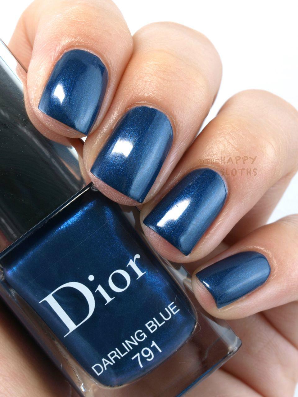 Dior Fall 2015 Dior Vernis In Quot 791 Darling Blue Quot Quot 001 Miroir Quot Quot 701 Metropolis Quot Amp Quot 785