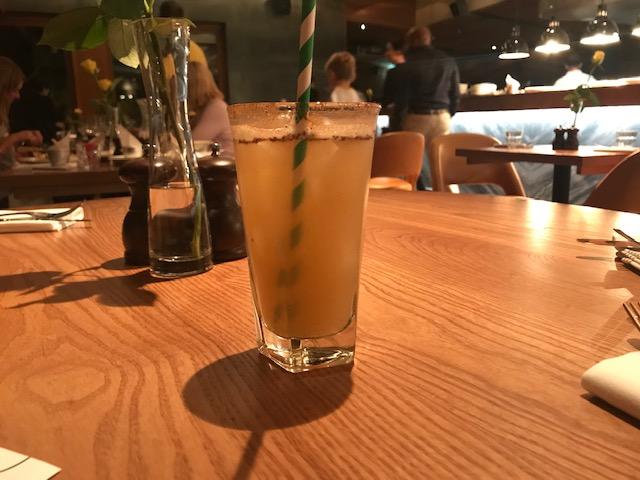 The Akeman, Tring, Herts, Cocktail, Rhubarb & Custard,