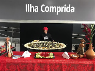 Gastronomia da Ilha foi selecionada para representar o Vale do  Ribeira durante Seminário de Gestão Pública, na capital