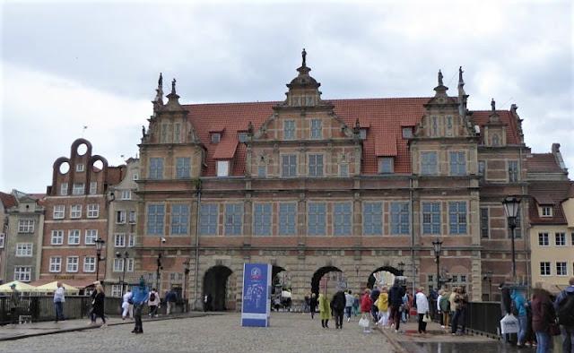 porta verde centro storico di danzica