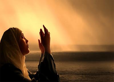 Dua Ederken Göğe,Yukarı Bakmak