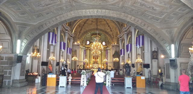 altar of the San Agustin Church Intramuros