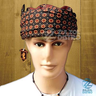 Peci Sorban Batik Candra Sumirat