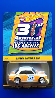 31st Annual Hot Wheels Collector's Convention: Los Angeles - Datsun Bluebird 510