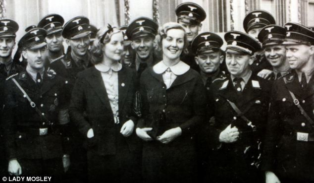 English socialite Unity Mitford was personal friends with Hitler during World War II worldwartwo.filminspector.com