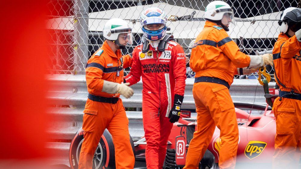 'Faz parte do jogo' - Sem arrependimentos para Leclerc sobre o acidente de Mônaco, pois ele diz que está 'muito motivado' para Baku