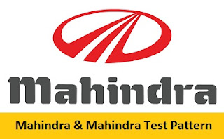 Mahindra & Mahindra Test Pattern