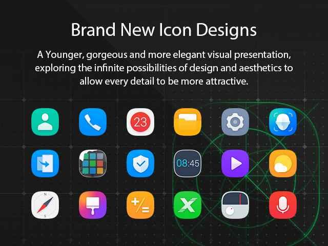 Infinix XOS 4 Honeybee brand new icons