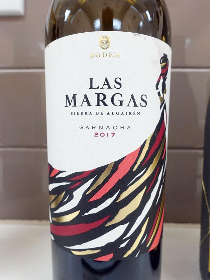 Bodem Las Margas Garnacha 2017 (88+ pts)