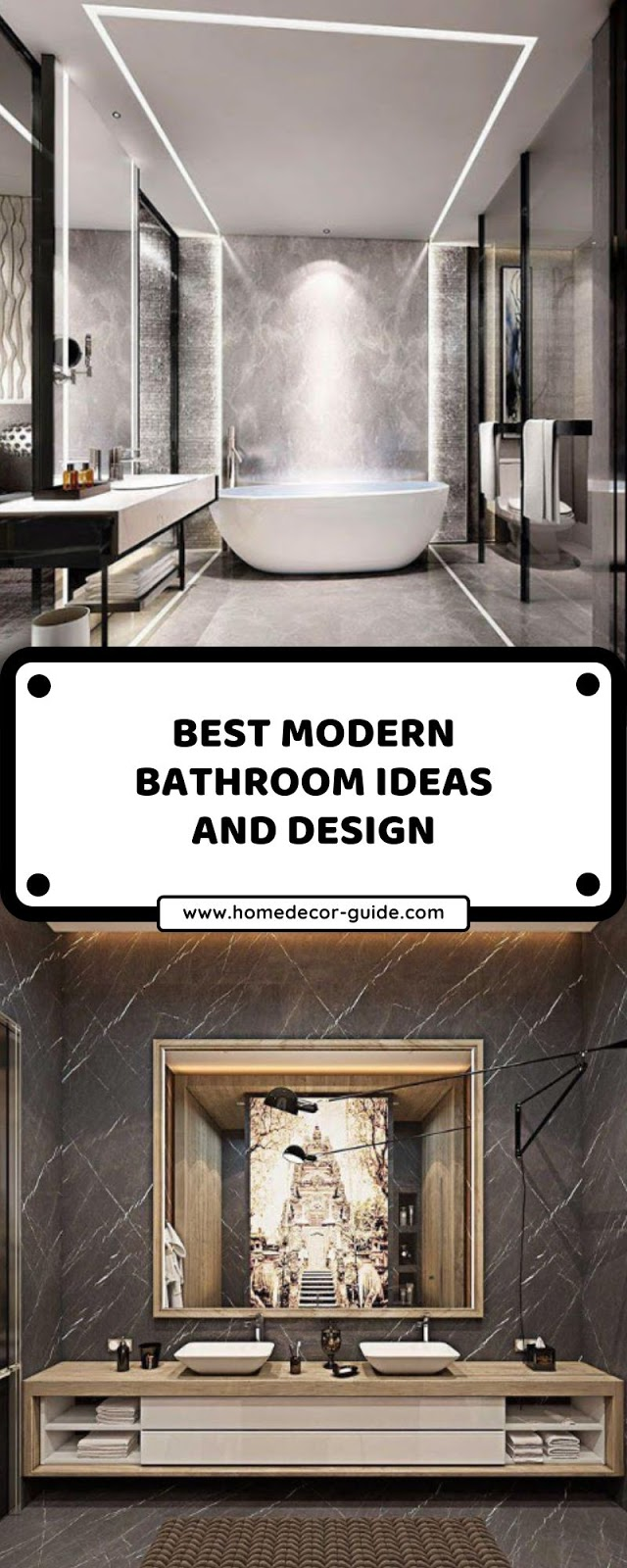 BEST MODERN BATHROOM IDEAS AND DESIGN