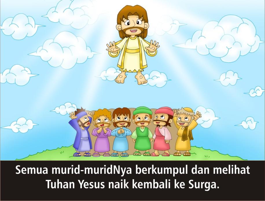 Komik Alkitab Anak Paskah