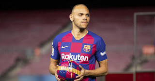 Braithwaite honoured and delighted on being named Barca's new No.9