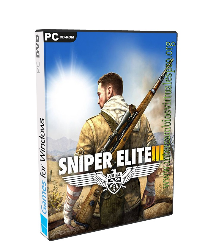 Sniper Elite 3 poster box cover