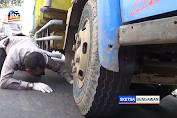 Gagal Salip, Pengemudi Motor Tewas Terlindas Truk