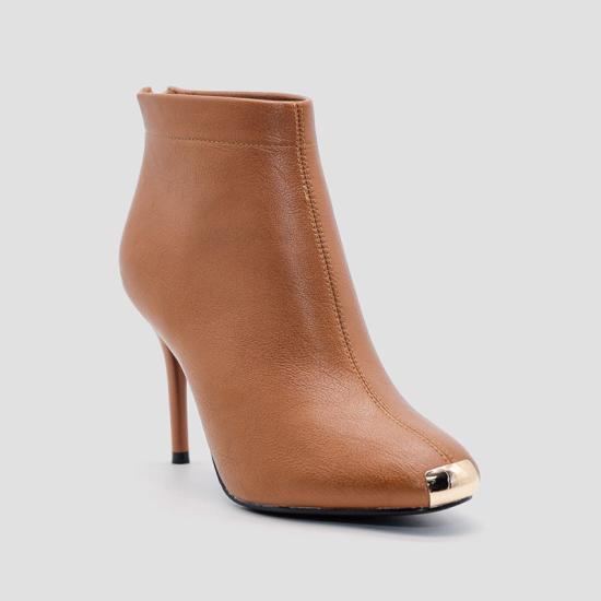 Giày boot nữ Aokang Nâu 182911473