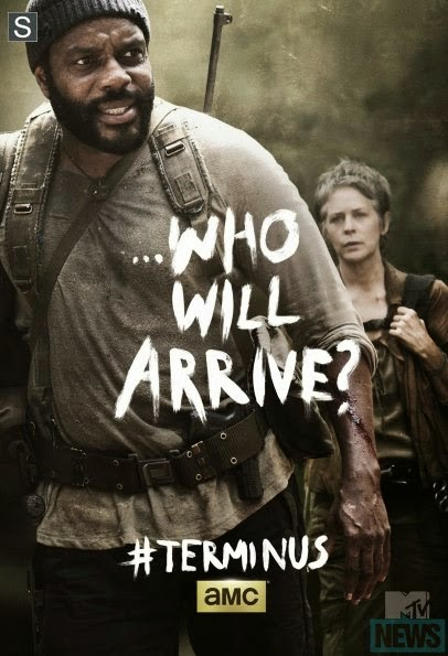 "Poster de Tyreese para el final de la cuarta temporada  ""The Walking Dead"""