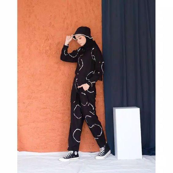 Black Motif Pajamas