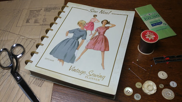 Simplicity Vintage Sewing Planner Review