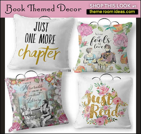 famous books popular books book pillows book decor home library decor decorating with books
