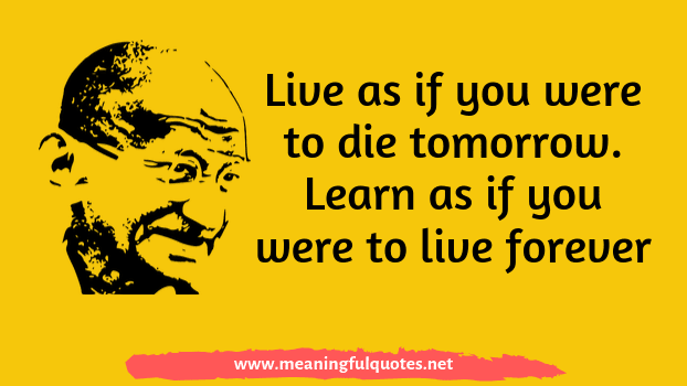 Mahatma Gandhi quotes and wishes