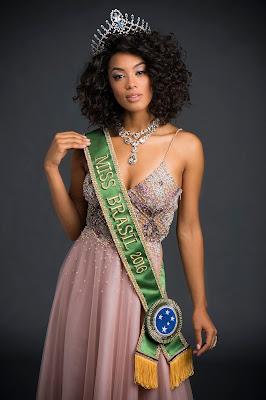 A Miss Brasil 2016, Raissa Santana, concorre ao título de Miss Universo - Foto: Marcelo Soubhia/Divulgação
