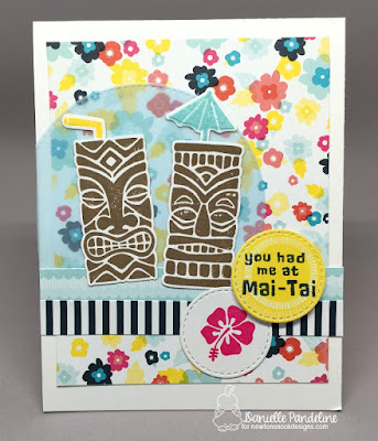 Tiki Time | Newtons Nook Designs | Card Created By Danielle Pandeline